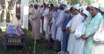 BNP leader Sanaullah Mia sleeps in Narsingdi