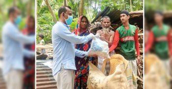 ৩৩৩ নম্বরে কল করে খাবার পেল রাঙ্গাবালীর রুবেল