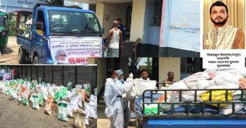 UNITED London Metropolitan Youth President Mamun's father delivers second round of relief