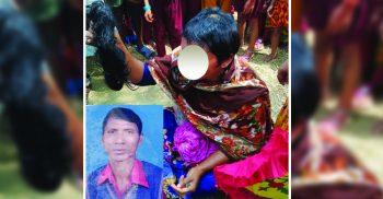 সাপাহারে স্ত্রী'কে কুপ্রস্তাব: রাজি না হওয়ায় মাথার চুল কেটে ফেলে দিলেন স্বামী
