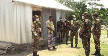 সেনাবাহিনীর দেয়া ঘর বুঝে পেলো আম্পানে ক্ষতিগ্রস্তরা