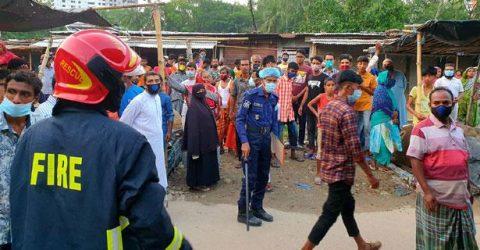 ময়মনসিংহের সানকিপাড়া বাজারে কুলিং গ্যাস বিস্ফোরণে শ্রমিক নিহত