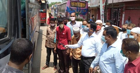 দীর্গ দু'মাস পর চট্টগ্রাম-রাঙামাটি সড়কসহ ১৩ রুটে বাস চালু