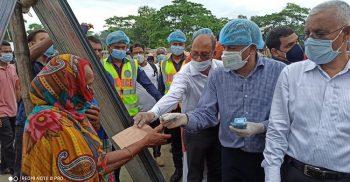 বিএনপি দেশের সংবিধান বিশ্বাস করে না বলেই বাজেটের কপি ছিঁড়েছে : এনামুল হক শামীম
