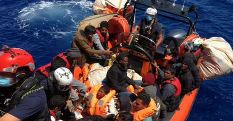 Italy Says Could Take 180 Rescued Migrants Monday