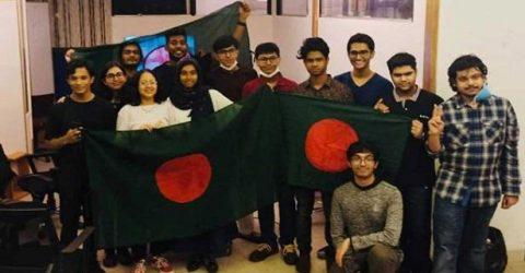 গ্লোবাল রোবটিক্স প্রতিযোগিতায় চ্যাম্পিয়ন 'বাংলাদেশ'