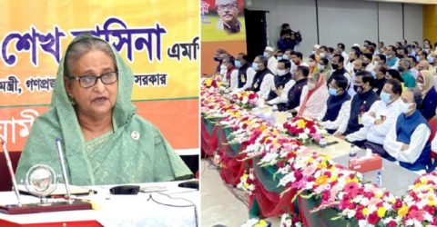 Country is moving ahead pursuing Bangabandhu's path: PM