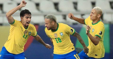 Brazil reaches Copa America final